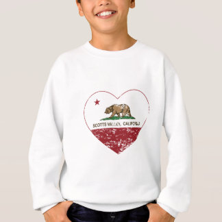 california flag scotts valley heart distressed sweatshirt