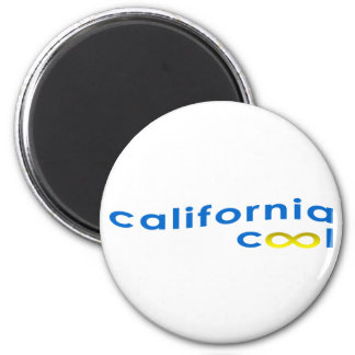 California - forever - cool 6 cm round magnet