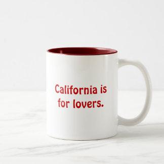 California is for lovers. Mug
