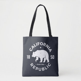 California Logo | The Golden State 2 Tote Bag