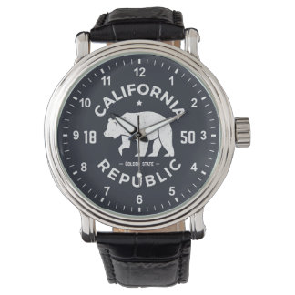 California Logo | The Golden State Wristwatches