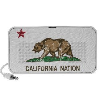 California Nation Republic Flag Travelling Speaker