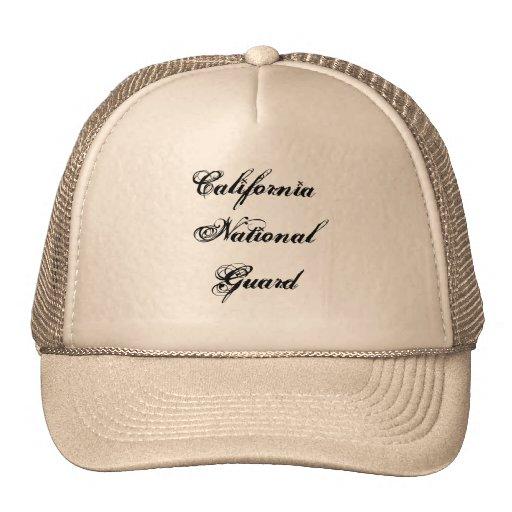 California National Guard Hats