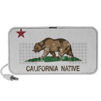 California Native Republic Flag Travelling Speaker