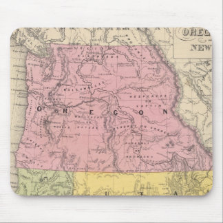 California, Oregon, Utah, and New Mexico Mouse Pad