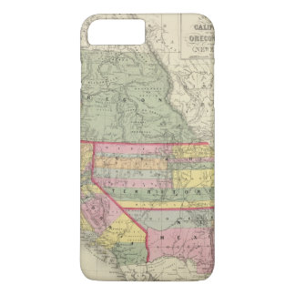 California, Oregon, Utah, New Mexico 2 iPhone 7 Plus Case