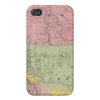 California, Oregon, Utah, New Mexico 3 iPhone 4/4S Case