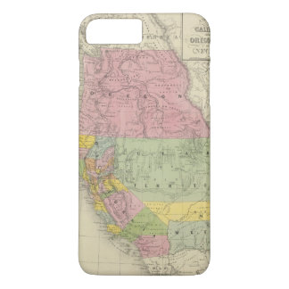 California, Oregon, Utah, New Mexico 3 iPhone 7 Plus Case