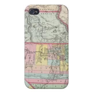 California, Oregon, Washington, Utah, New Mexico 4 Covers For iPhone 4