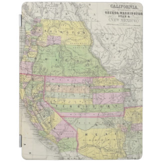 California, Oregon, Washington, Utah, New Mexico 6 iPad Cover