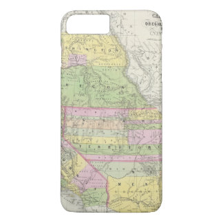 California, Oregon, Washington, Utah, New Mexico 6 iPhone 7 Plus Case