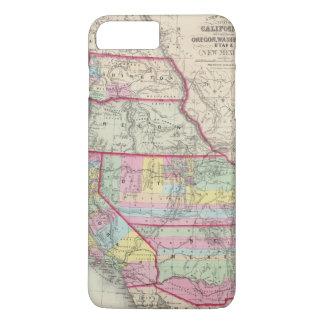 California, Oregon, Washington, Utah, New Mexico iPhone 8 Plus/7 Plus Case