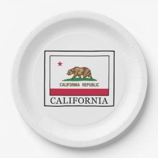 California Paper Plate