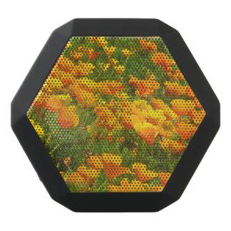California Poppies Black Bluetooth Speaker