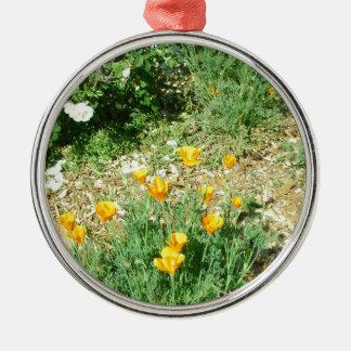 California Poppy #6 Christmas Ornament