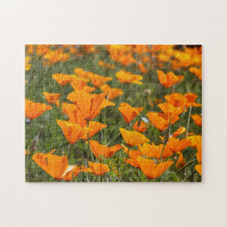 California Poppy Field 2 Jigsaw Puzzle