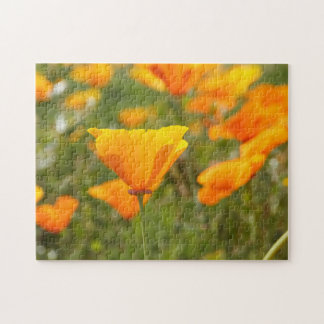 California Poppy Field Jigsaw Puzzle