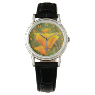 California Poppy Women's Watch