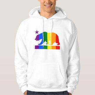 California Pride Bear Hoodie