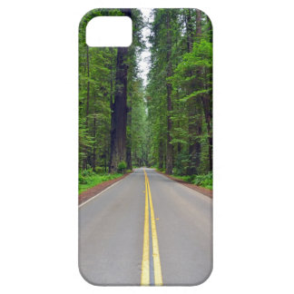 California redwood forest highway image iPhone 5 cover
