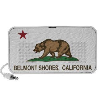California Republic Bear Flag Belmont Shores Portable Speaker