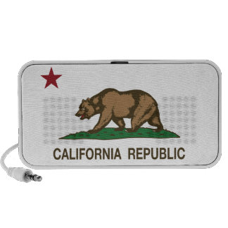 California Republic Bear Flag Travel Speakers