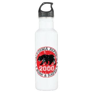 california republic born raised 2000 710 ml water bottle
