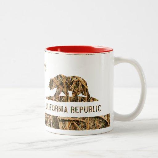 California Republic Camo 2 Coffee Mug