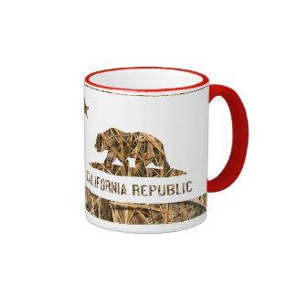 California Republic Camo 2 Mug