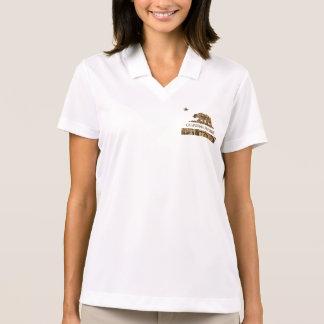 California Republic Camo 2 Polo Shirt
