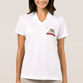 California Republic Flag Bolinas Polo Shirt