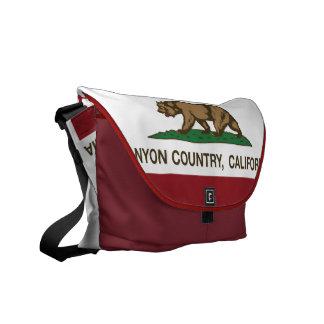California Republic Flag Canyon Country Courier Bag