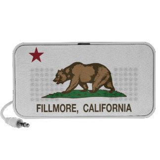 California Republic Flag Fillmore iPhone Speakers