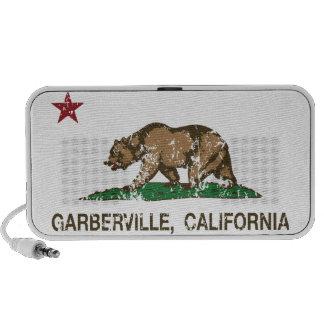 California Republic Flag Garberville iPhone Speakers