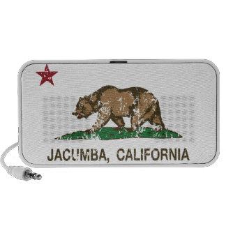 California Republic Flag Jacumba Portable Speaker