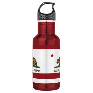 California Republic Flag Malibu 532 Ml Water Bottle