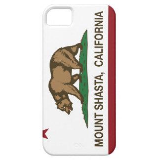California Republic Flag Mount Shasta iPhone 5 Case