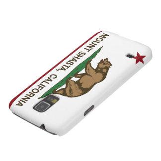 California Republic Flag Mount Shasta Galaxy S5 Cover