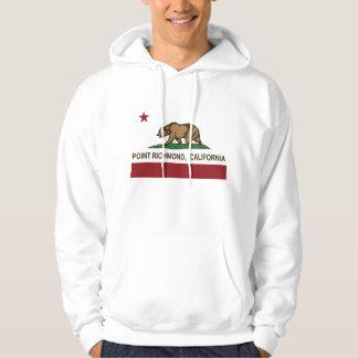 California Republic Flag Point Richmond Hoodie