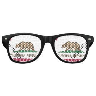 California Republic state flag party shades