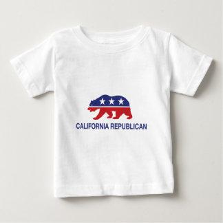 California Republican Bear Baby T-Shirt