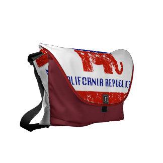 california republican distressed commuter bag