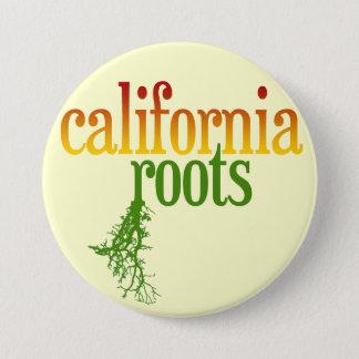 California Roots 7.5 Cm Round Badge