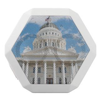 California State Capitol in Sacramento White Bluetooth Speaker
