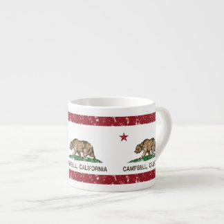 California State Flag Campbell Espresso Cup