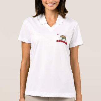 California State Flag Davis Polo Shirt