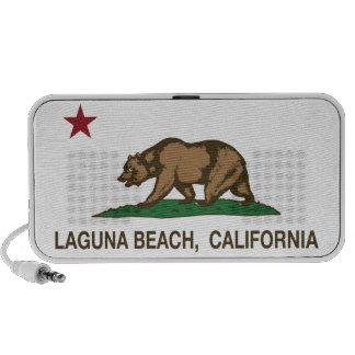 California State Flag Laguna Beach Speaker System