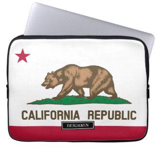 California State Flag Laptop Sleeve