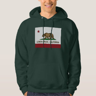 California State Flag Lemon Grove Hoodie