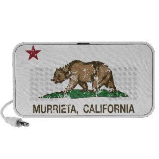 California State Flag Murrieta iPod Speaker